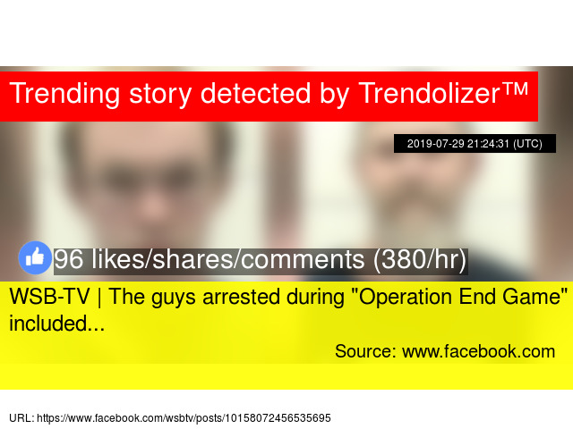 """WSB-TV   The guys arrested during """""""