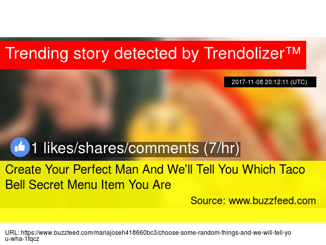Create your perfect man